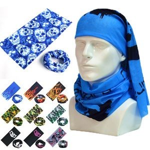 Multi Funtional Seamless Bandana/Scarf/Neck-Wrap